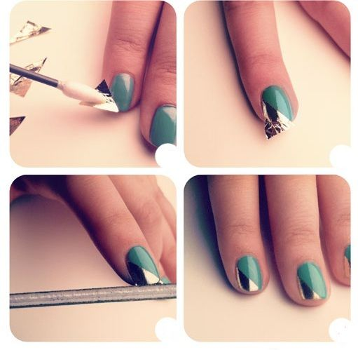 Des ongles en alu o o for Dessin ongle facile a faire